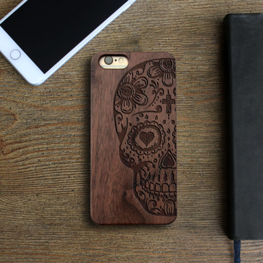 Personalized Wood Iphone Case   Dod