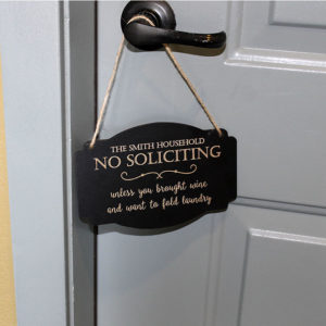 Personalized Door Knob Sign | Smiths