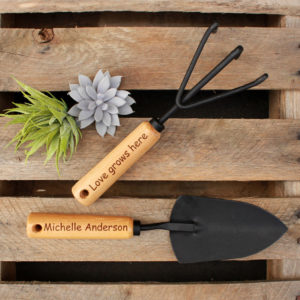 Personalized Garden Tools | Michelle