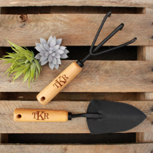 Personalized Garden Tools | Initials