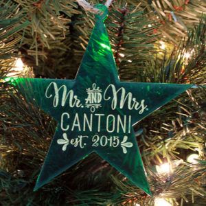 Personalized Christmas Ornaments | Cantoni