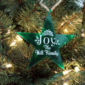 Personalized Christmas Ornaments | Hill Family