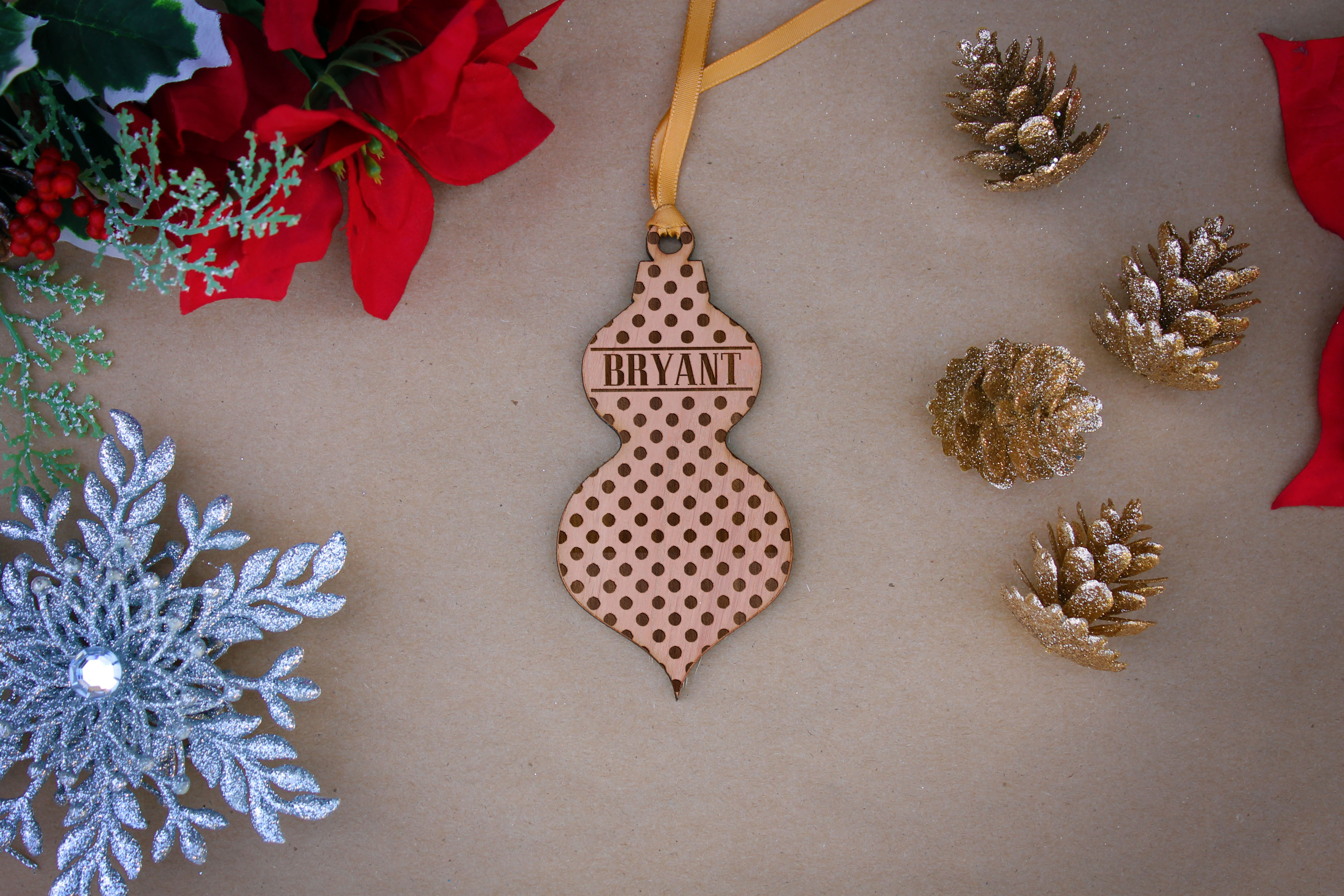 Personalized Wood Christmas Ornaments | Channel Family