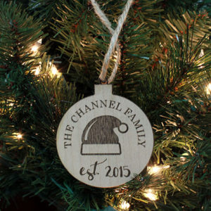 Personalized Christmas Ornaments | Channel Family