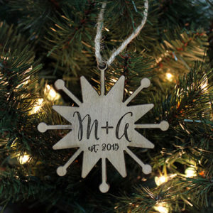 Personalized Christmas Ornaments | M+A