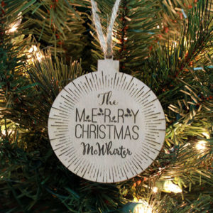 Personalized Christmas Ornaments | McWhirter