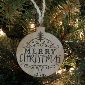 Personalized Christmas Ornaments | Merry Christmas