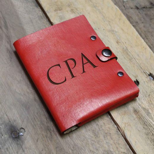 Personalized Leather Passport Wallet | CPA