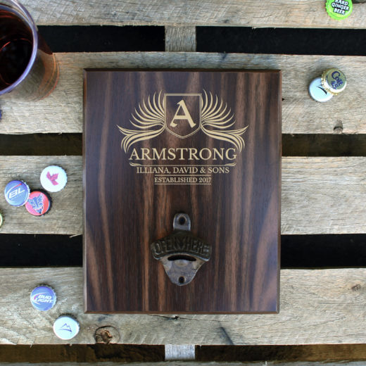 Custom Plaque Bottle Opener Board | Armstrong