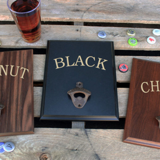 Plaque Beer Board Options