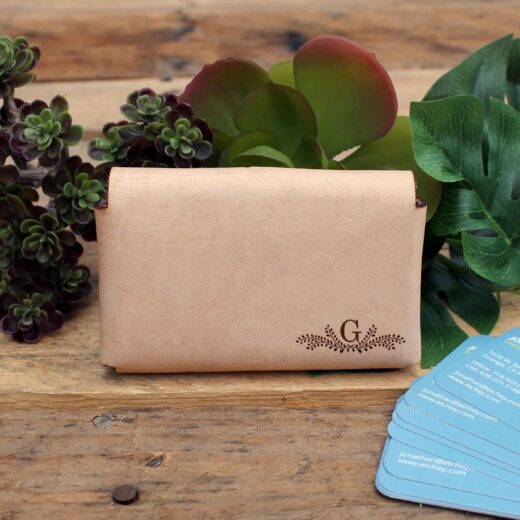 Genuine Leather Business Card Holder | G Reef