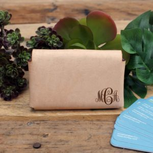 Genuine Leather Business Card Holder | MCA