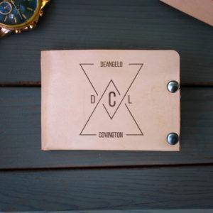 Genuine Leather Bi-fold Wallet | DeAngelo Covington