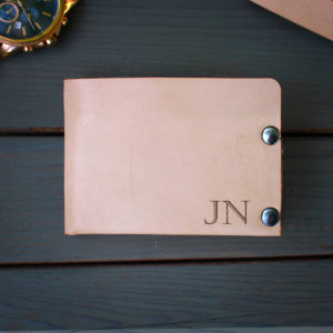 Genuine Leather Bi-fold Wallet | JN