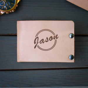 Genuine Leather Bi-fold Wallet | Jason