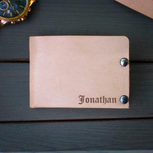 Genuine Leather Bi-fold Wallet | Jonathan