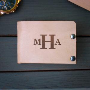 Genuine Leather Bi-fold Wallet | MHA