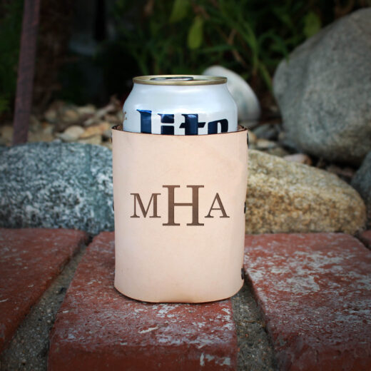 Genuine Leather Koozie | MHA