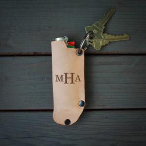 Genuine Leather Lighter Holder | MHA