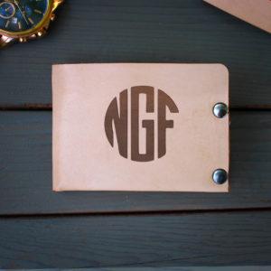 Genuine Leather Bi-fold Wallet | NGF