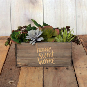 Personalized Planter Box 10 x 4 | HomeSweetHome