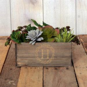 Personalized Planter Box 10 x 4 | HReef