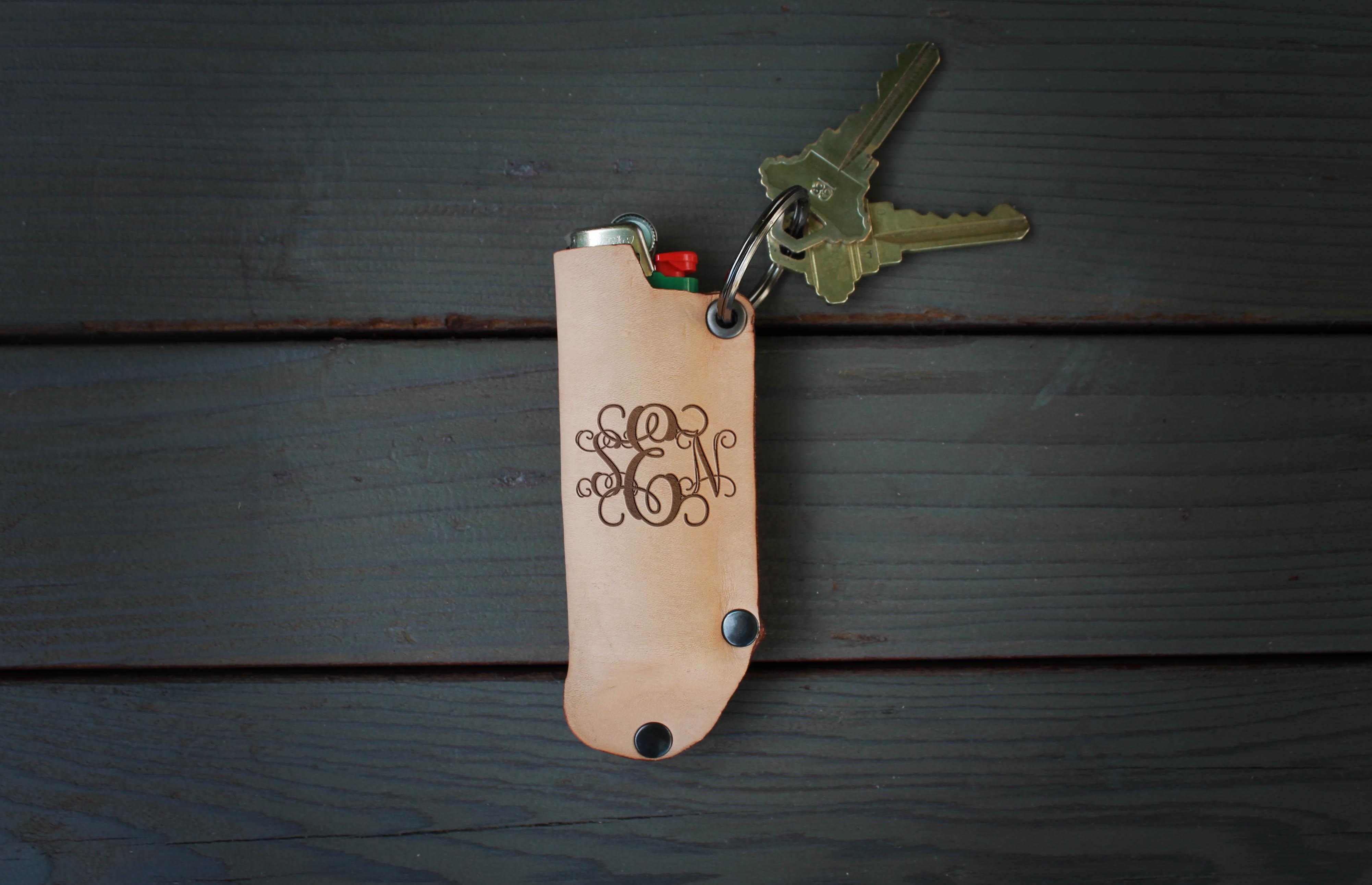 Genuine Leather Lighter Holder | SEN