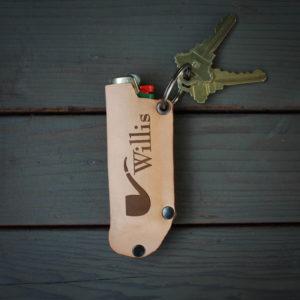 Genuine Leather Lighter Holder | Willis