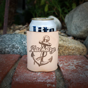 Genuine Leather Koozie