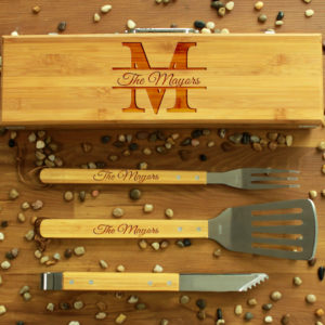 BBQ Utensils Box Set | Mayors