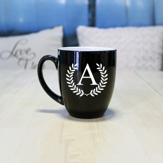 Personalized Bistro Coffee Mug | A Reef