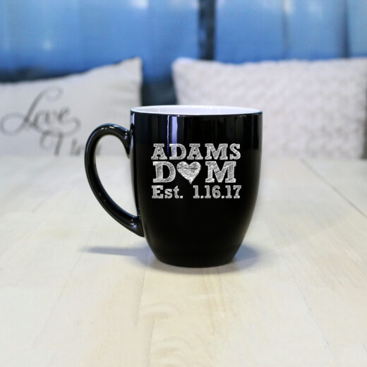 Personalized Bistro Coffee Mug | Adams