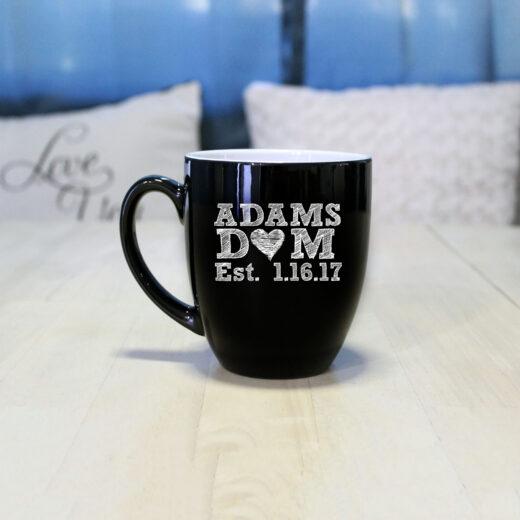 Personalized Bistro Coffee Mug | Adams