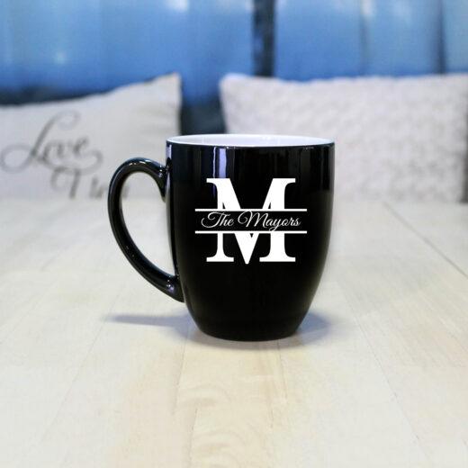 Personalized Bistro Coffee Mug | Mayors