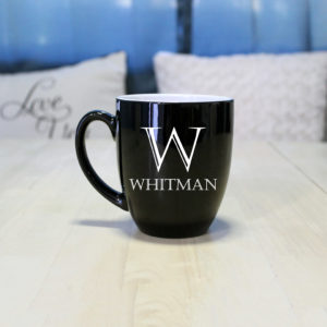 Personalized Bistro Coffee Mug | Whitman