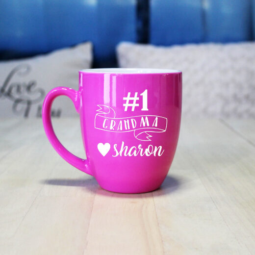 Personalized Bistro Coffee Mug | #1GMA