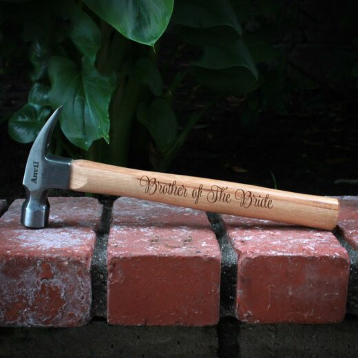 Personalized Hammer | Brother Bride