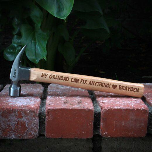 Personalized Hammer | Grandpa Brayden