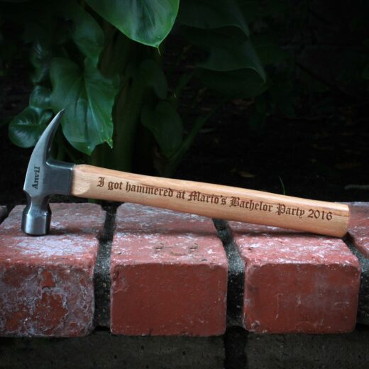 Personalized Hammer | Hammered