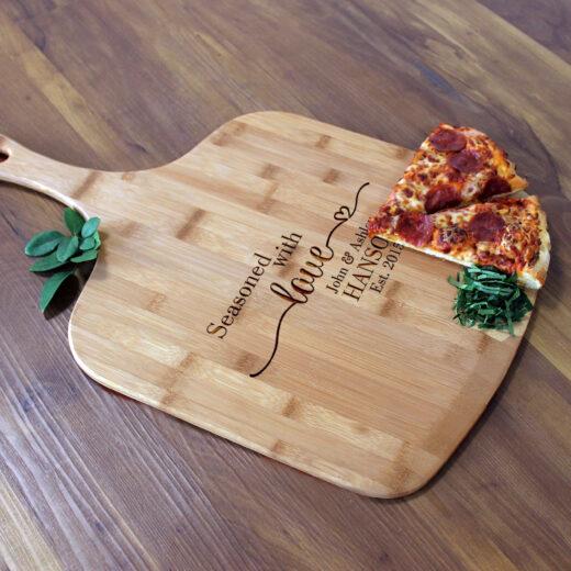 Personalized Pizza Peel | Hanson