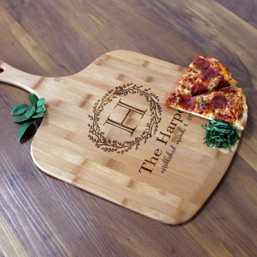 Personalized Pizza Peel | Harpers