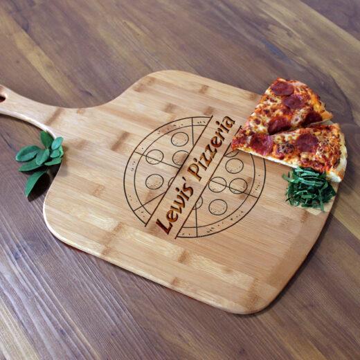 Personalized Pizza Peel | Lewis Pizzeria