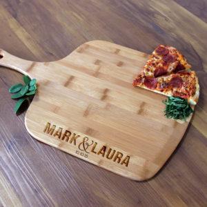 Personalized Pizza Peel | Mark Laura