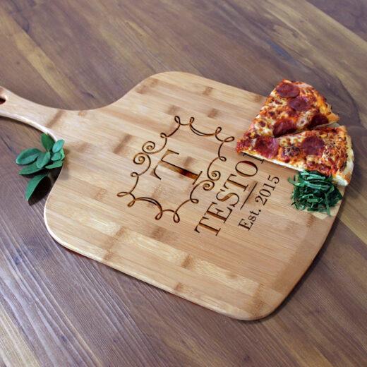 Personalized Pizza Peel | Teston