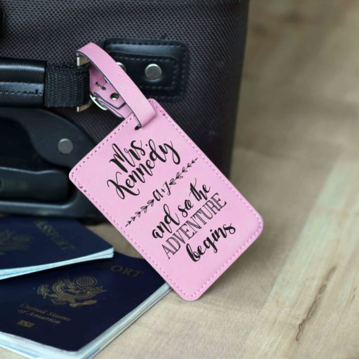 Vegan Leather Luggage Tag | Kennedy