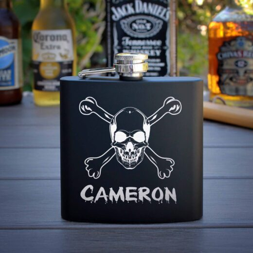 Personalized Flask   Cameron