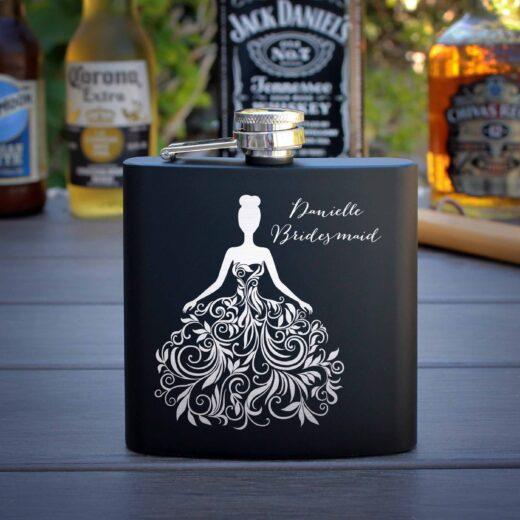 Personalized Flask   Danielle