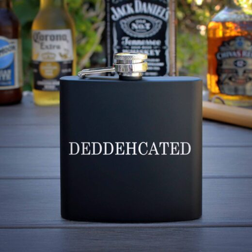 Personalized Flask | Deddedhcated