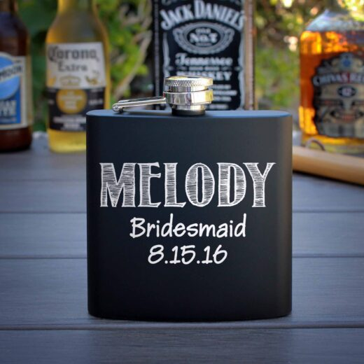 Personalized Flask | Melody