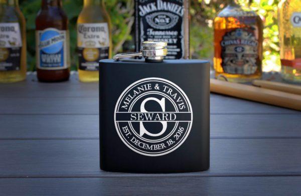 Personalized Flask   Seward